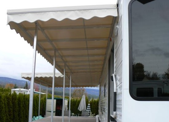 Hard Covered Awning